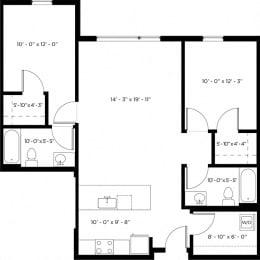 Atlas 2H Floor Plan