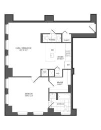 Floor plan at The Republic, Philadelphia