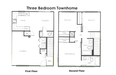 Franklin Place 3 Bed Townhome