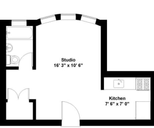 Floor Plan GEORGE SPOOR