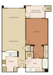 Floor Plan 1x1 4.1A