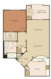 Floor Plan 1x1 5.1A