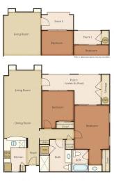 Floor Plan 2x2 1.2M