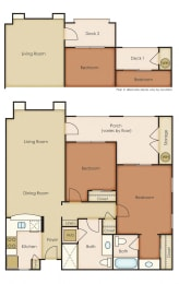 Floor Plan 2x2 1.2A