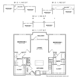Floor Plan BB.B1
