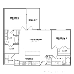 Floor Plan BB.B2