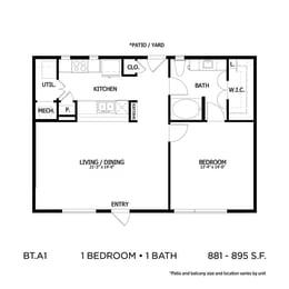 Floor Plan BLTA1