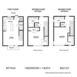 Floor Plan BLT.THA1