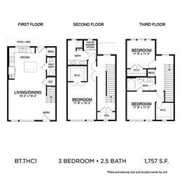 Floor Plan BLT.THC1