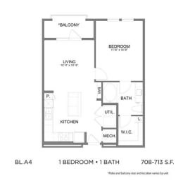 Floor Plan BL.A4