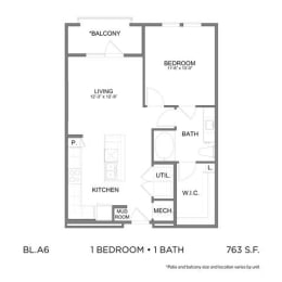 Floor Plan BLA6