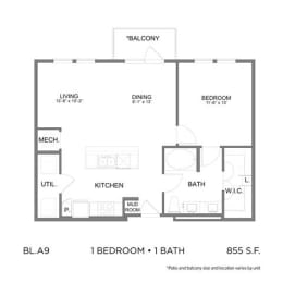 Floor Plan BLA9