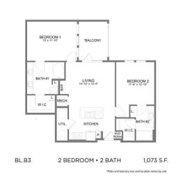 Floor Plan BL.B3