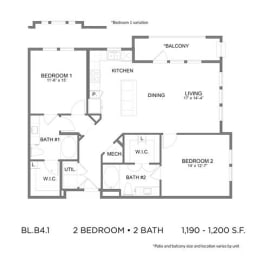Floor Plan BL.B4.1