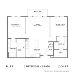 Floor Plan BL.B5