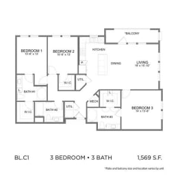 Floor Plan BL.C1
