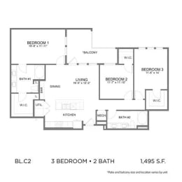 Floor Plan BL.C2
