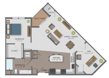 Floor plan at The Edison at Avonlea, Lakeville