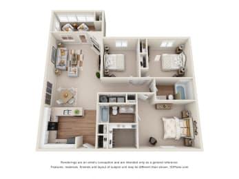 Floor Plan Chestnut