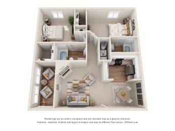 Floor Plan Magnolia