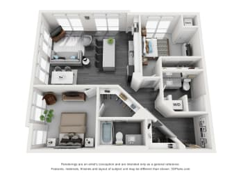 Floor Plan Nicollet
