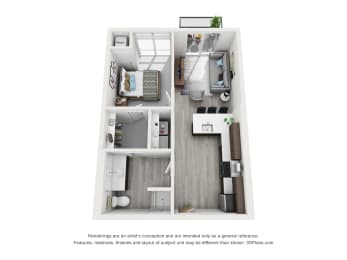 Floor Plan Sheridan