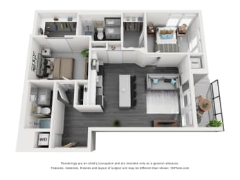 Floor Plan Weisman