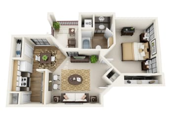 Floor Plan A1 - Renovated