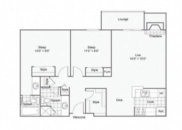 Floor Plan sharpe