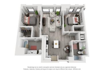 Floor Plan 2B