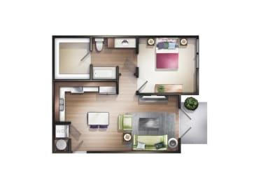Floor Plan Millspring