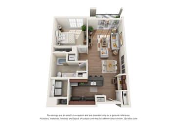 Floor Plan White Oak