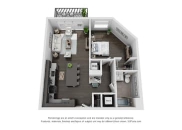 Floor Plan 1A Plus