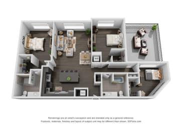 Floor Plan 3A