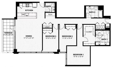 Floor Plan 601