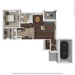 Floor Plan at Orion McCord Park, Texas