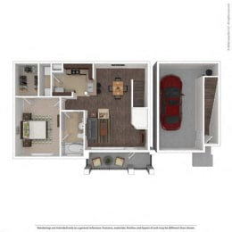 Floor Plan at Orion McKinney, McKinney, TX