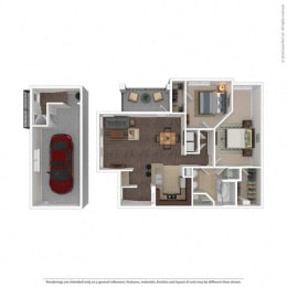 Floor Plan at Orion McKinney, McKinney, TX, 75070