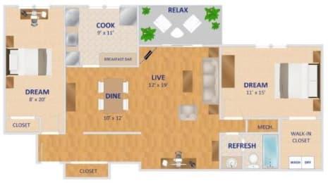 Floor Plan The Alexander