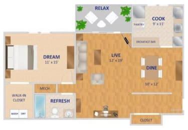 Floor Plan The Valencia