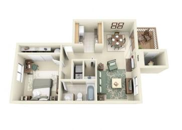 Anderson Deluxe Floor Plan at StonePointe, Washington