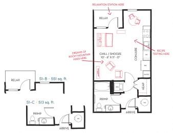 S1A Floor Plan