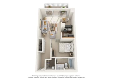 Floor Plan Calais - Associates