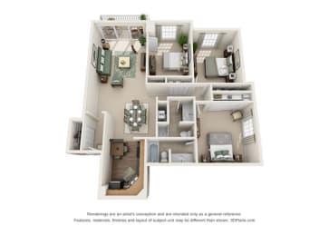 Floor Plan Versailles - Associates