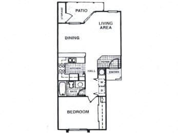 One bedroom apartment at Fisherman's Landing in Ormond Beach, FL