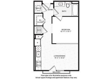 Floor Plan  S1(1) Floor Plan at Windsor Old Fourth Ward, Georgia, 30312