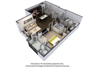 Floor Plan  Floor Plan at Windsor at Pinehurst, Colorado