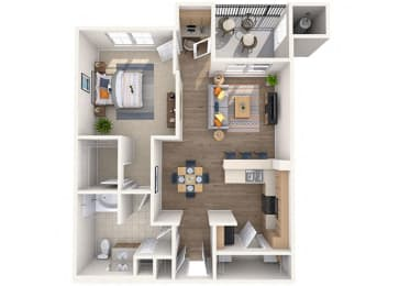 Sunrise  Floor Plan at Waterford at Peoria, Peoria, AZ, 85381