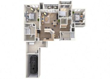 Terramar Floor Plan  at Waterford at Peoria, Peoria, AZ, 85381