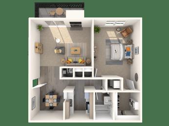 1 bedroom apartments fairfax